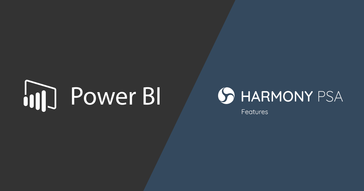 HarmonyPSA-PowerBI-Features