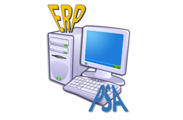 The difference between an ERP system and a PSA system